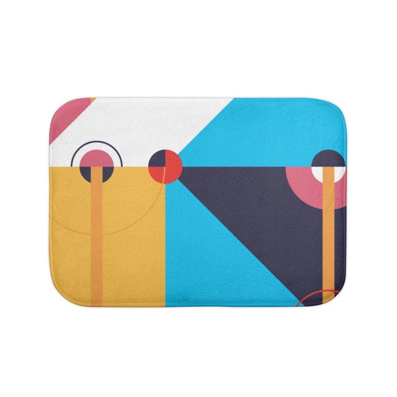 Geometric Design Series 4, Poster 11 Home Bath Mat by Madeleine Hettich Design & Illustration