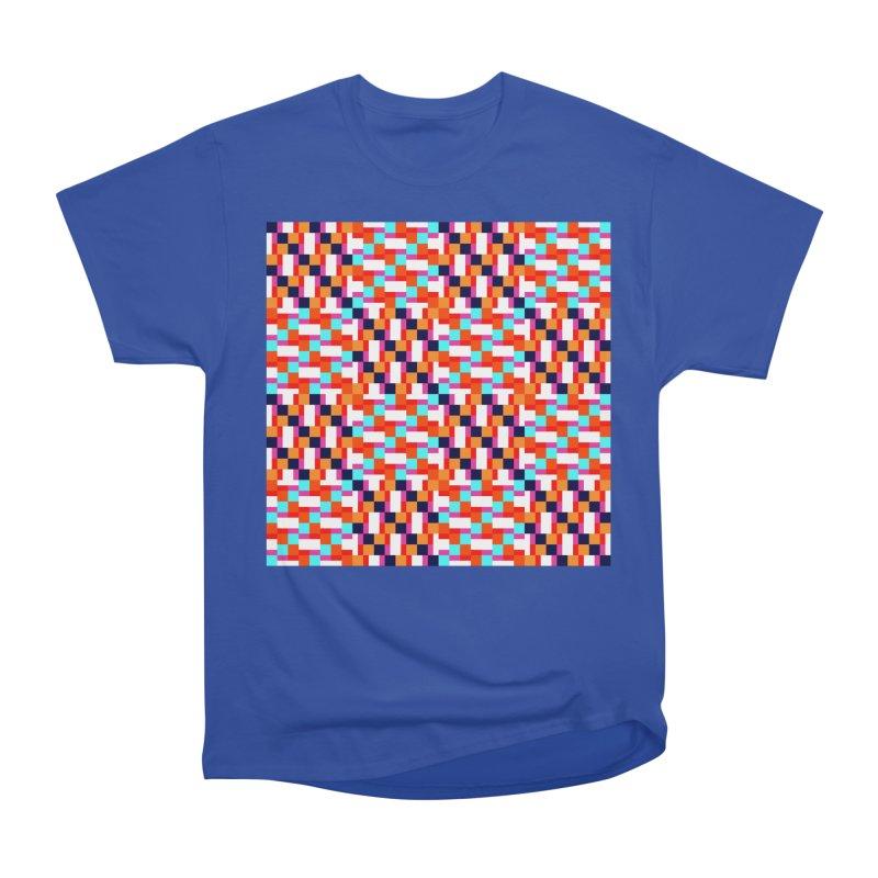Geometric Design Series 4, Poster 9 (Version 2) Women's Heavyweight Unisex T-Shirt by Madeleine Hettich Design & Illustration