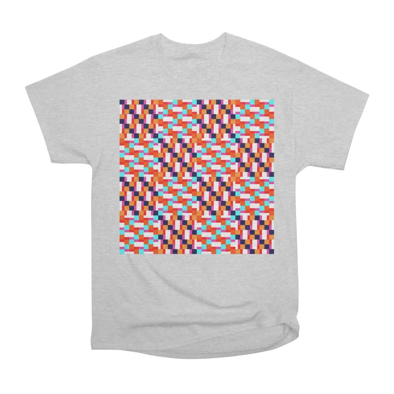 Geometric Design Series 4, Poster 9 (Version 2) Men's Heavyweight T-Shirt by Madeleine Hettich Design & Illustration