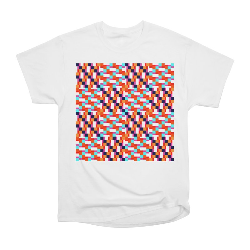 Geometric Design Series 4, Poster 9 (Version 2) Women's Heavyweight Unisex T-Shirt by Madeleine Hettich Design & Illustration