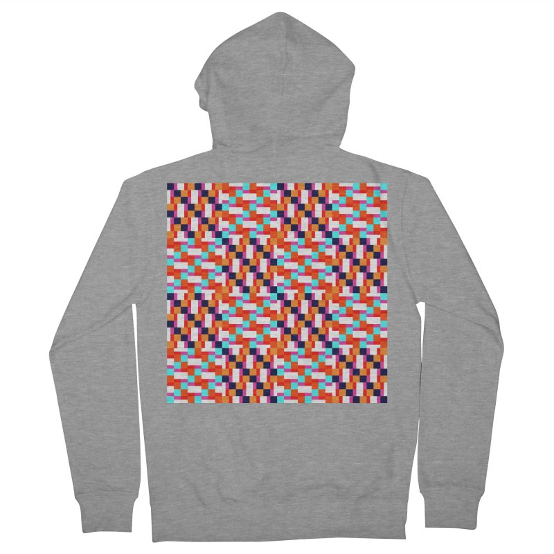 Geometric Design Series 4, Poster 9 (Version 2) Women's French Terry Zip-Up Hoody by Madeleine Hettich Design & Illustration