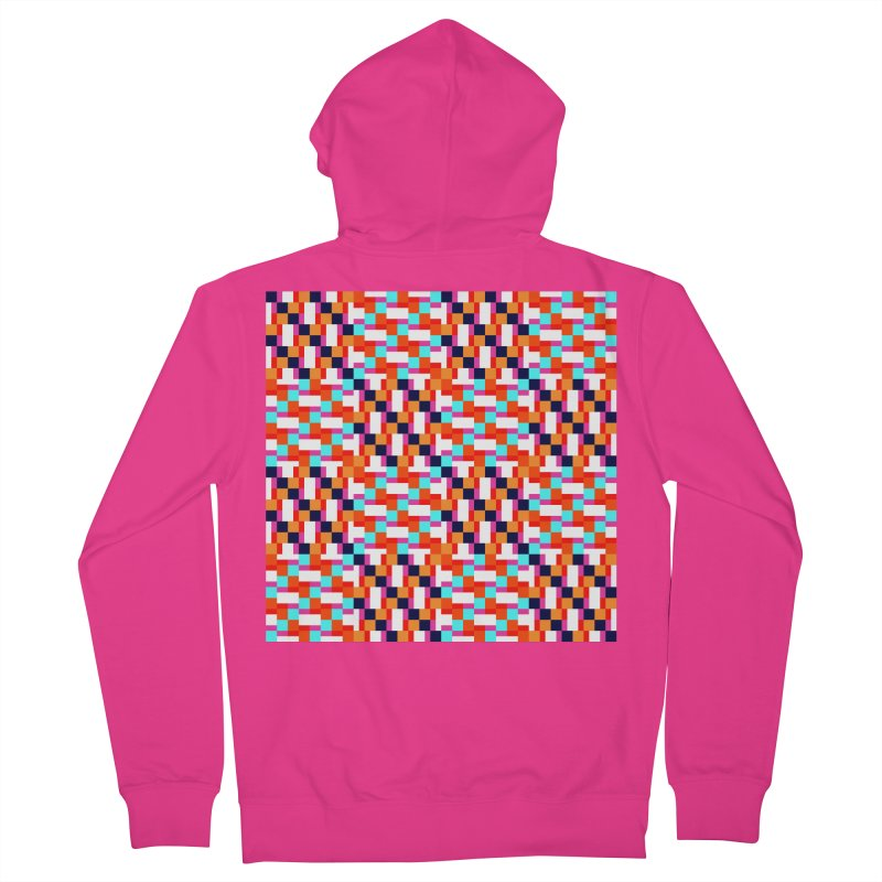 Geometric Design Series 4, Poster 9 (Version 2) Men's French Terry Zip-Up Hoody by Madeleine Hettich Design & Illustration
