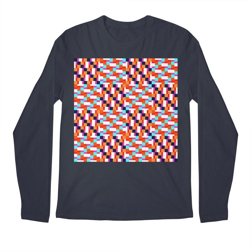 Geometric Design Series 4, Poster 9 (Version 2) Men's Regular Longsleeve T-Shirt by Madeleine Hettich Design & Illustration