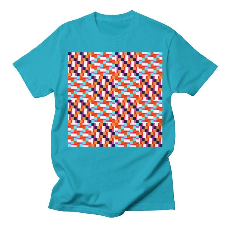 Geometric Design Series 4, Poster 9 (Version 2) Men's T-Shirt by Madeleine Hettich Design & Illustration