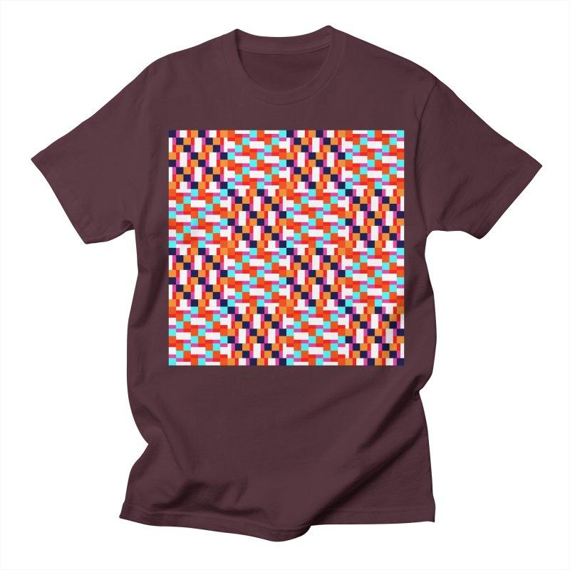 Geometric Design Series 4, Poster 9 (Version 2) Men's Regular T-Shirt by Madeleine Hettich Design & Illustration