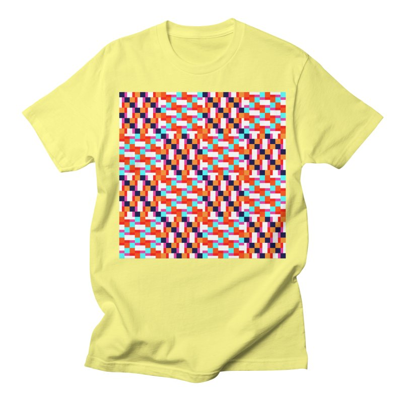 Geometric Design Series 4, Poster 9 (Version 2) Women's Regular Unisex T-Shirt by Madeleine Hettich Design & Illustration