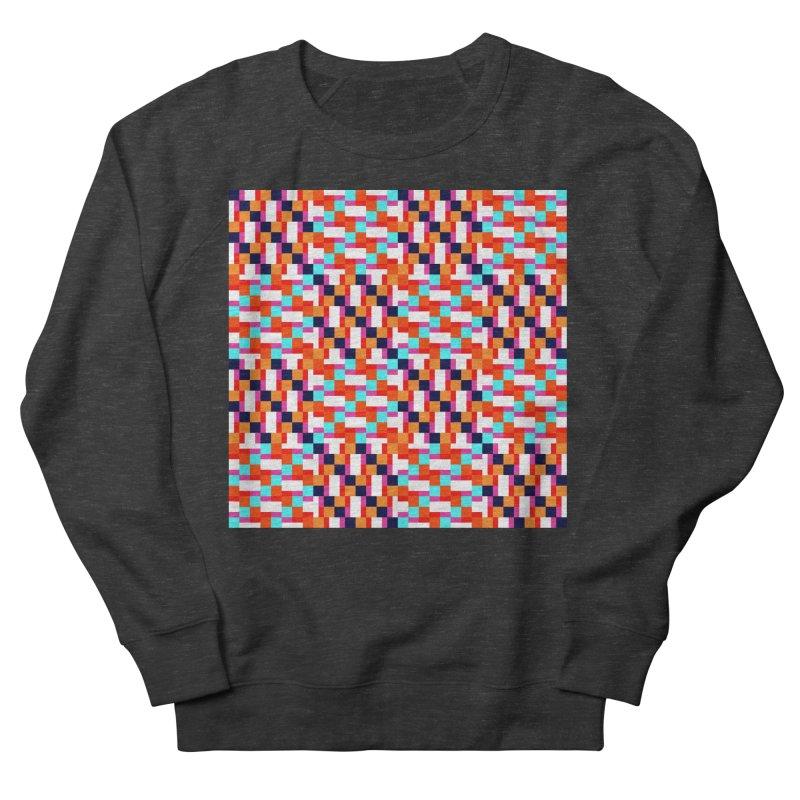 Geometric Design Series 4, Poster 9 (Version 2) Men's French Terry Sweatshirt by Madeleine Hettich Design & Illustration