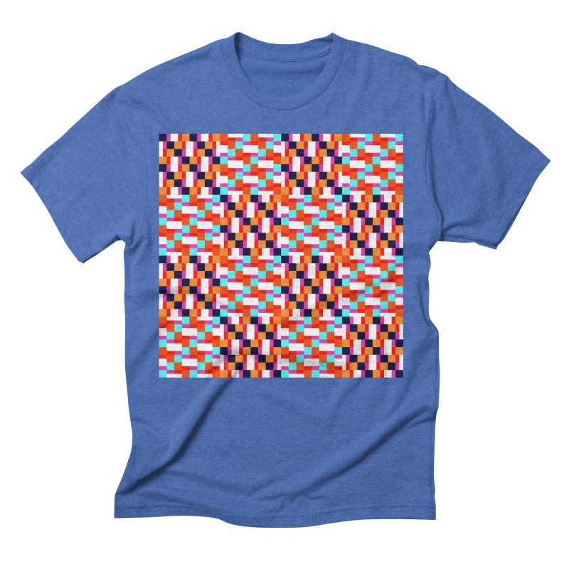 Geometric Design Series 4, Poster 9 (Version 2) Men's T-Shirt by Madeleine Hettich Design & Illustration