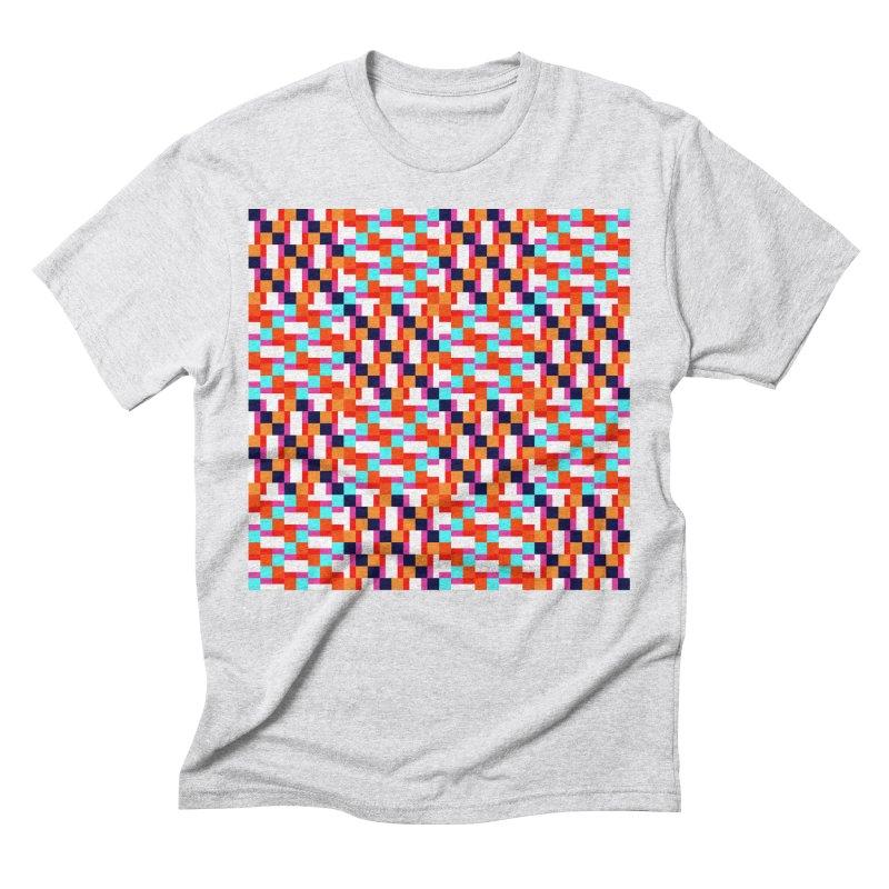 Geometric Design Series 4, Poster 9 (Version 2) Men's Triblend T-Shirt by Madeleine Hettich Design & Illustration