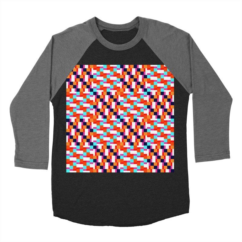 Geometric Design Series 4, Poster 9 (Version 2) Women's Baseball Triblend T-Shirt by Madeleine Hettich Design & Illustration
