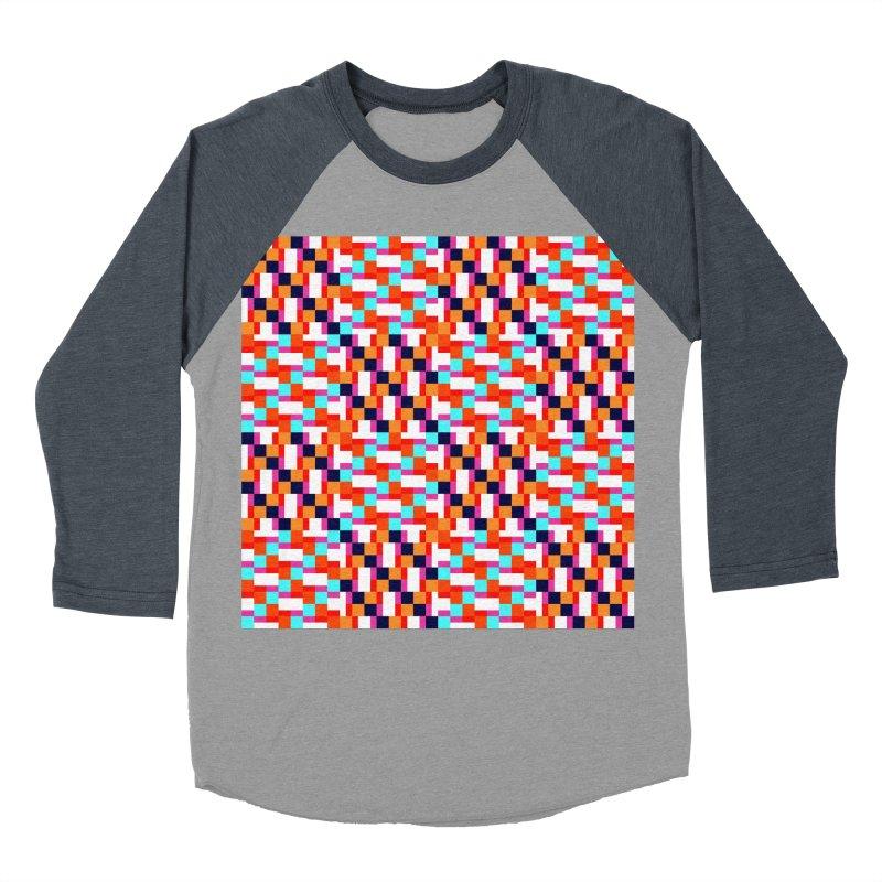 Geometric Design Series 4, Poster 9 (Version 2) Men's Baseball Triblend T-Shirt by Madeleine Hettich Design & Illustration