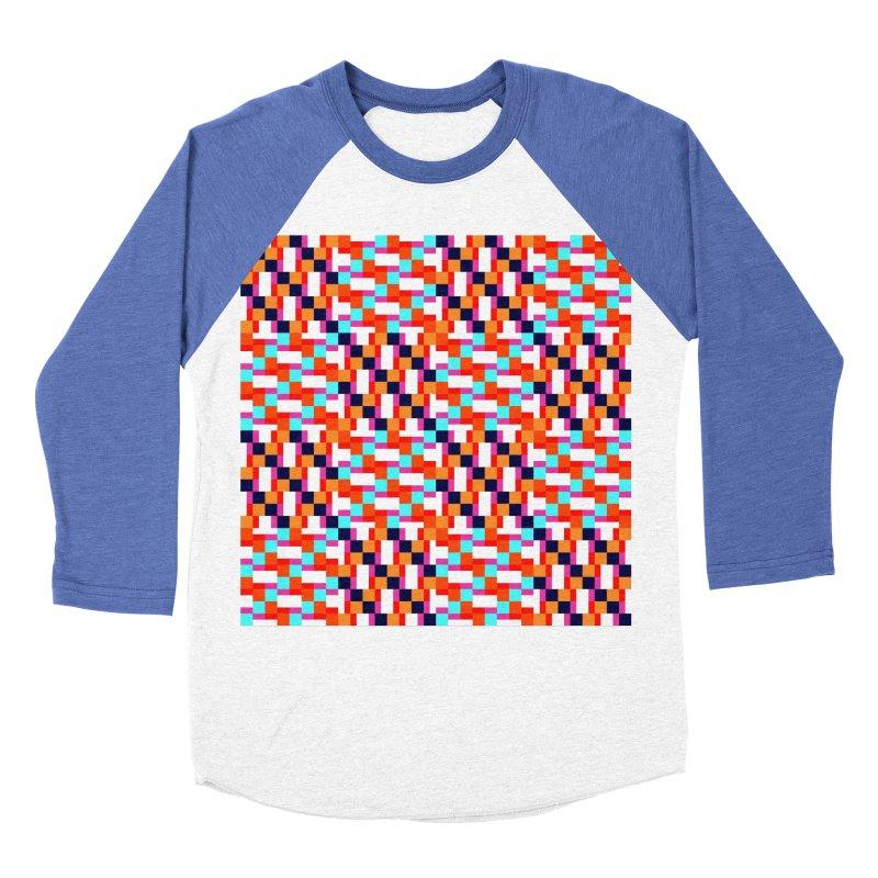Geometric Design Series 4, Poster 9 (Version 2) Men's Baseball Triblend Longsleeve T-Shirt by Madeleine Hettich Design & Illustration