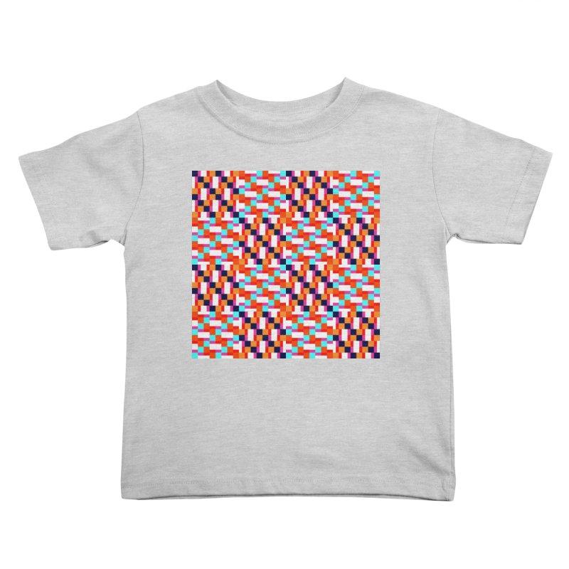 Geometric Design Series 4, Poster 9 (Version 2) Kids Toddler T-Shirt by Madeleine Hettich Design & Illustration