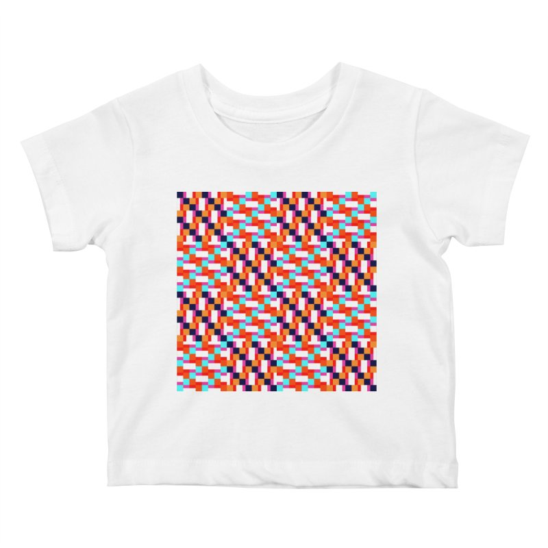 Geometric Design Series 4, Poster 9 (Version 2) Kids Baby T-Shirt by Madeleine Hettich Design & Illustration