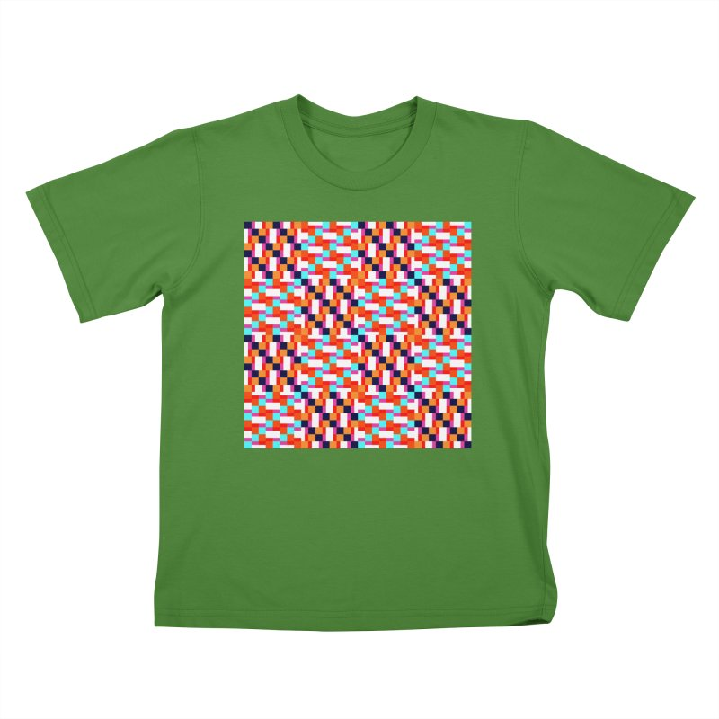 Geometric Design Series 4, Poster 9 (Version 2) Kids T-Shirt by Madeleine Hettich Design & Illustration