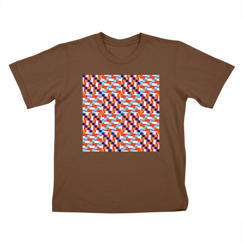 Geometric Design Series 4, Poster 9 (Version 2) Kids T-Shirt by Madeleine Hettich Design & Illustration