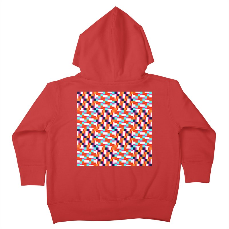 Geometric Design Series 4, Poster 9 (Version 2) Kids Toddler Zip-Up Hoody by Madeleine Hettich Design & Illustration