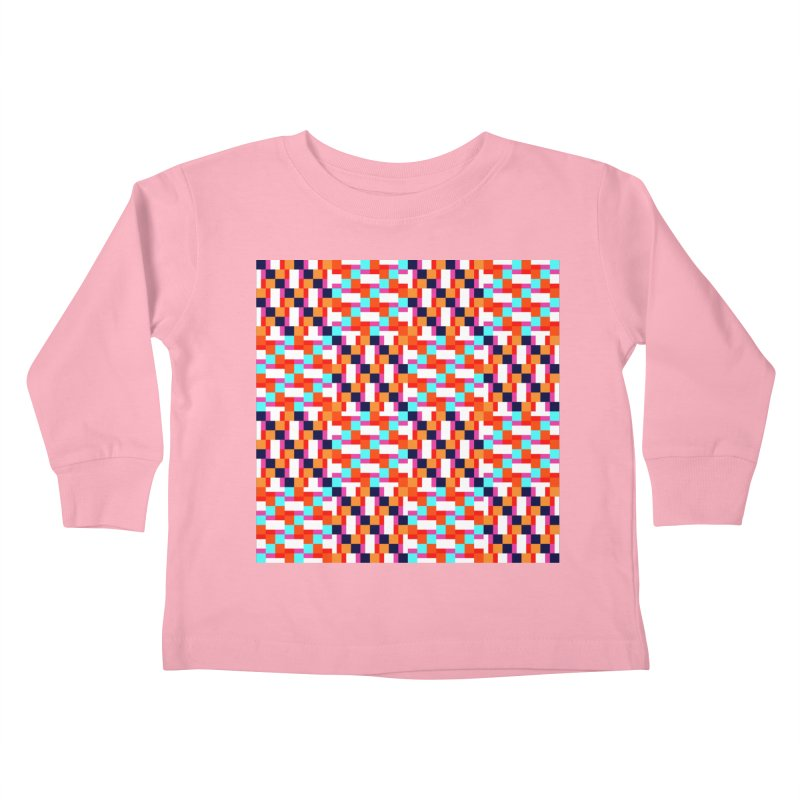 Geometric Design Series 4, Poster 9 (Version 2) Kids Toddler Longsleeve T-Shirt by Madeleine Hettich Design & Illustration