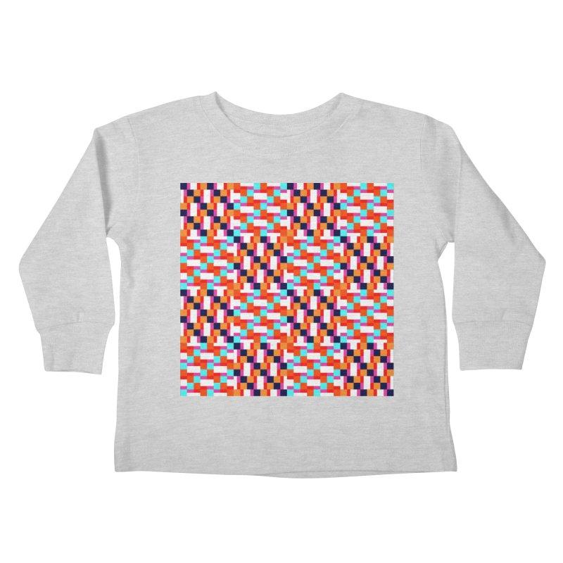 Geometric Design Series 4, Poster 9 (Version 2) Kids Toddler Longsleeve T-Shirt by Madeleine Hettich Design & Illustration