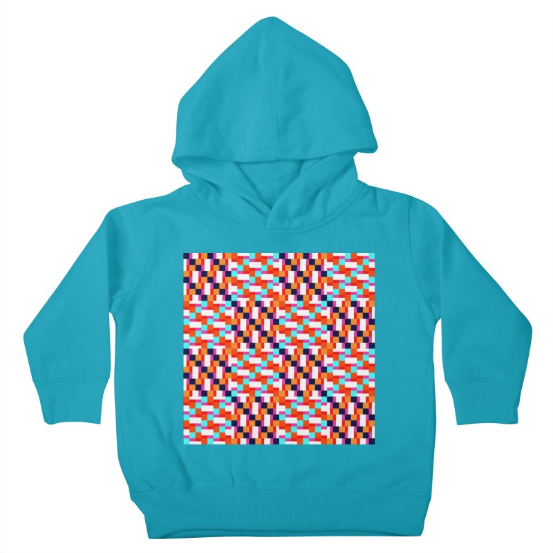 Geometric Design Series 4, Poster 9 (Version 2) Kids Toddler Pullover Hoody by Madeleine Hettich Design & Illustration