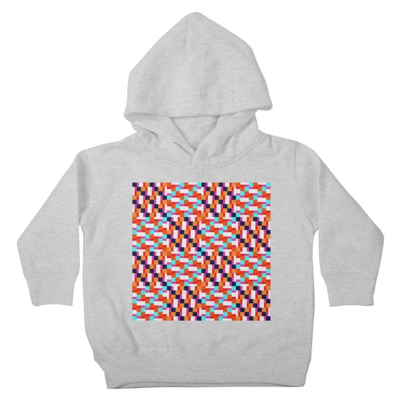 Geometric Design Series 4, Poster 9 (Version 2) Kids Toddler Pullover Hoody by Madeleine Hettich Design & Illustration
