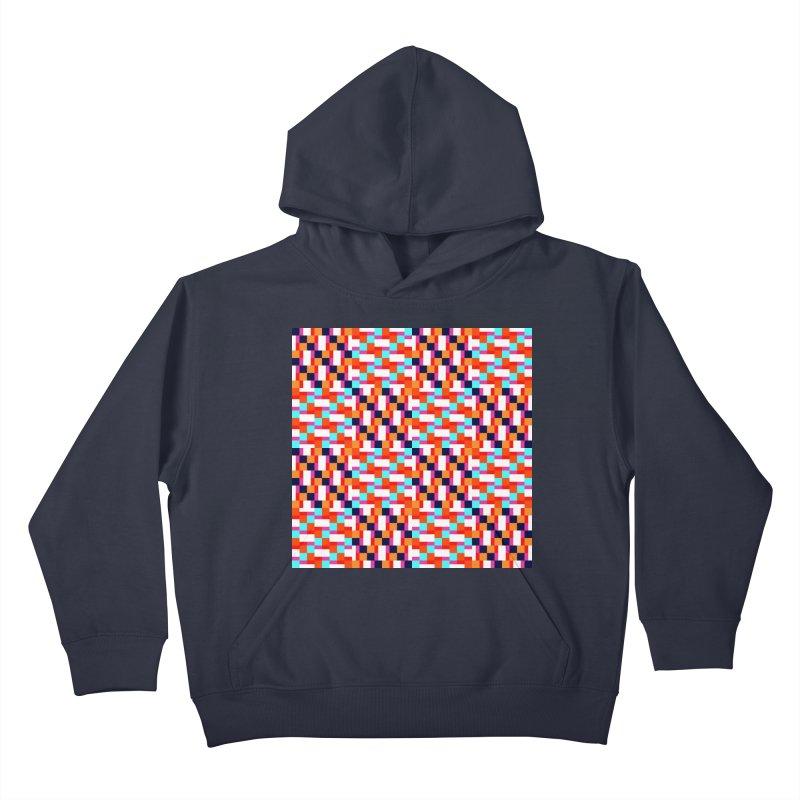 Geometric Design Series 4, Poster 9 (Version 2) Kids Pullover Hoody by Madeleine Hettich Design & Illustration