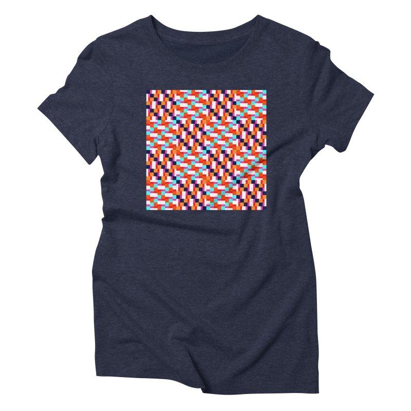 Geometric Design Series 4, Poster 9 (Version 2) Women's Triblend T-Shirt by Madeleine Hettich Design & Illustration