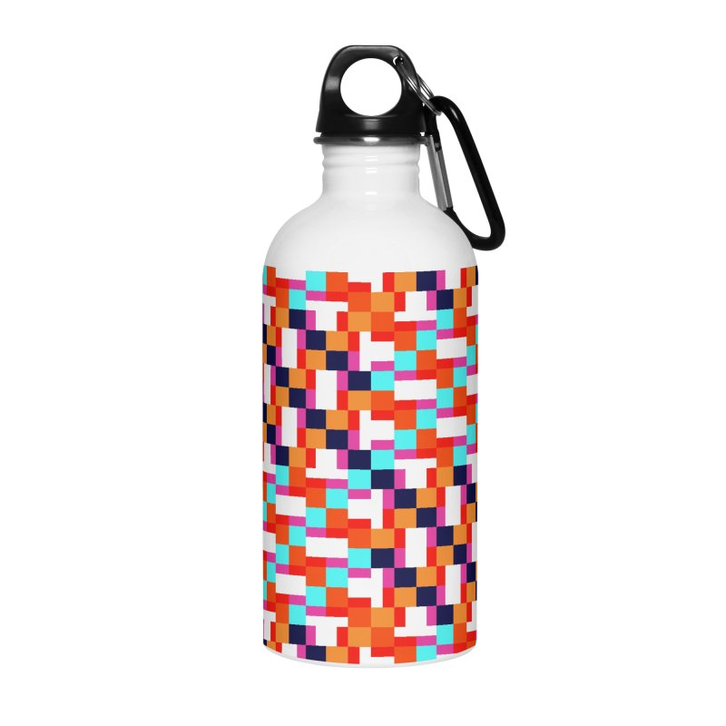 Geometric Design Series 4, Poster 9 (Version 2) Accessories Water Bottle by Madeleine Hettich Design & Illustration