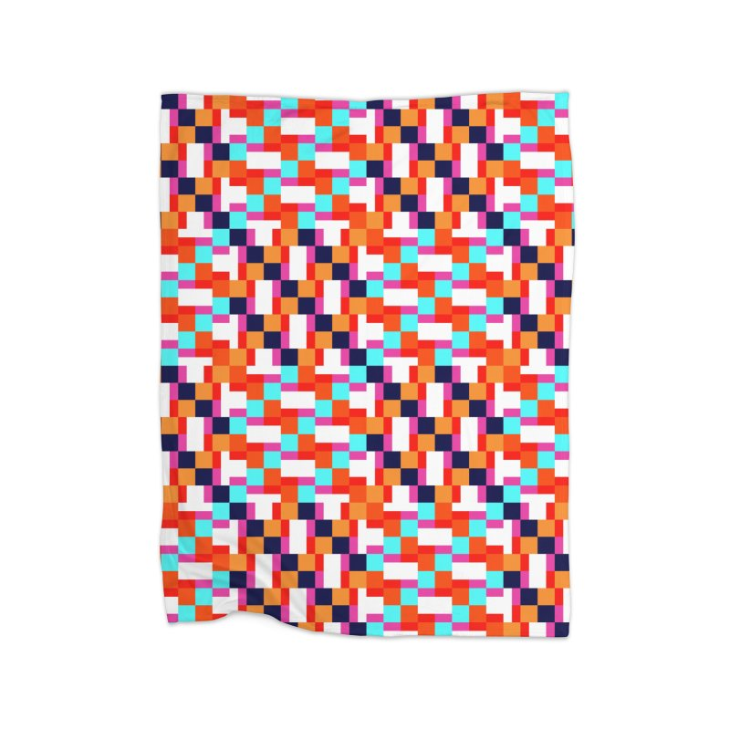 Geometric Design Series 4, Poster 9 (Version 2) Home Blanket by Madeleine Hettich Design & Illustration