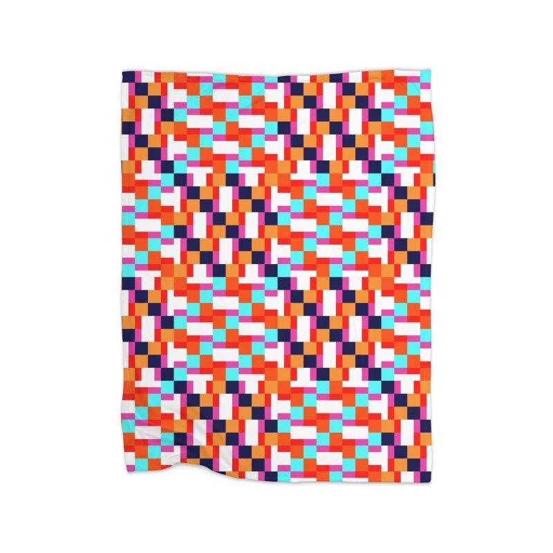 Geometric Design Series 4, Poster 9 (Version 2) Home Fleece Blanket Blanket by Madeleine Hettich Design & Illustration