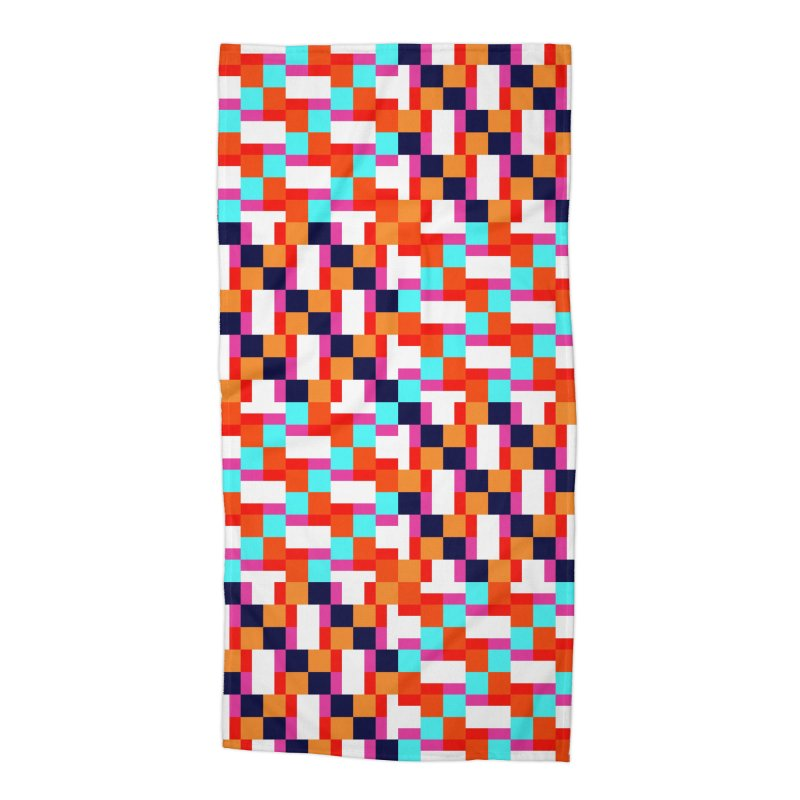 Geometric Design Series 4, Poster 9 (Version 2) Accessories Beach Towel by Madeleine Hettich Design & Illustration