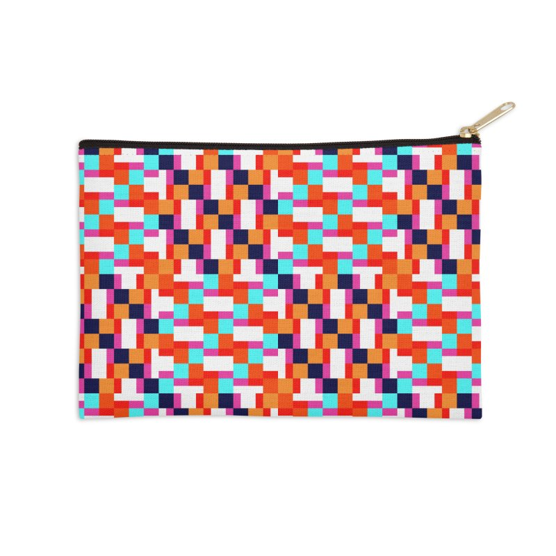 Geometric Design Series 4, Poster 9 (Version 2) Accessories Zip Pouch by Madeleine Hettich Design & Illustration