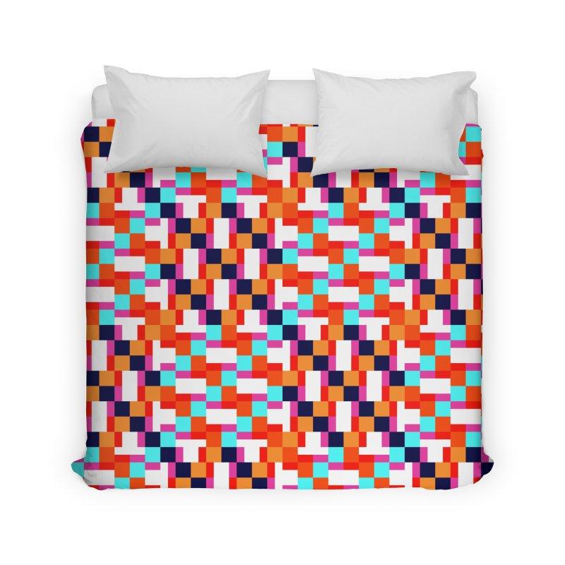 Geometric Design Series 4, Poster 9 (Version 2) Home Duvet by Madeleine Hettich Design & Illustration