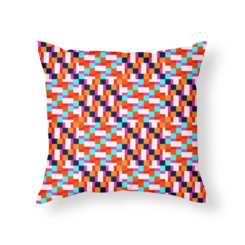 Geometric Design Series 4, Poster 9 (Version 2) Home Throw Pillow by Madeleine Hettich Design & Illustration