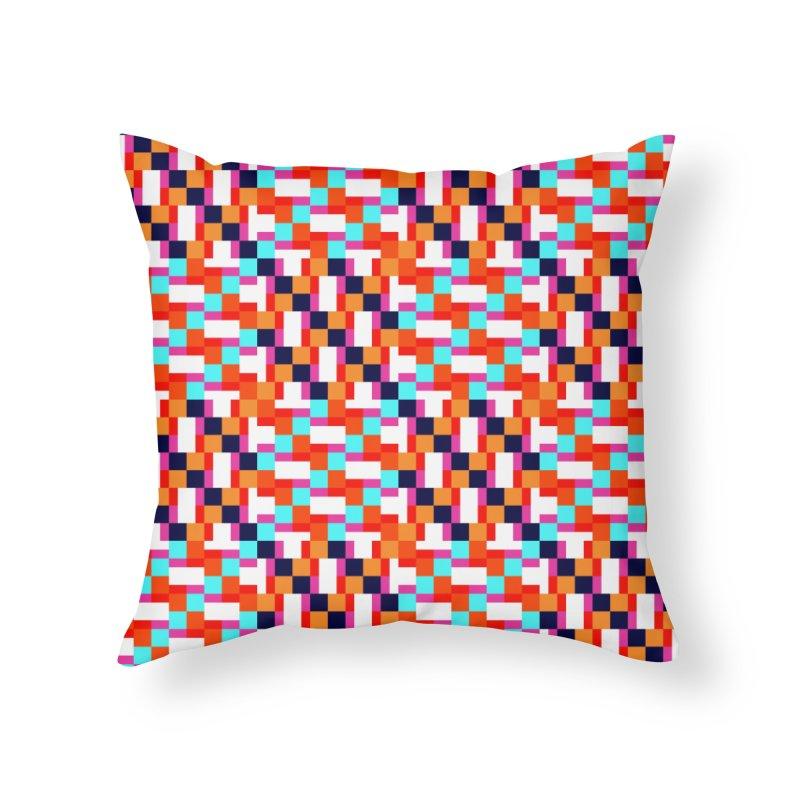 Geometric Design Series 4, Poster 9 (Version 2) Home Throw Pillow by Madeleine Hettich Design & Illustration