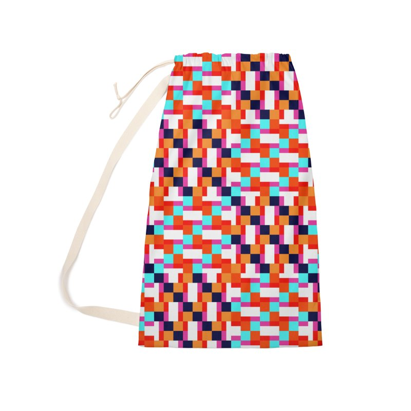 Geometric Design Series 4, Poster 9 (Version 2) Accessories Laundry Bag Bag by Madeleine Hettich Design & Illustration