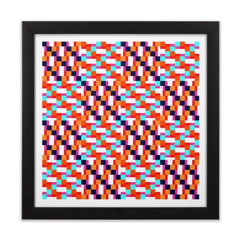 Geometric Design Series 4, Poster 9 (Version 2) Home Framed Fine Art Print by Madeleine Hettich Design & Illustration