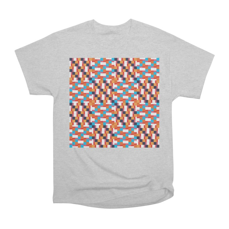 Geometric Design Series 4, Poster 9 Women's Heavyweight Unisex T-Shirt by Madeleine Hettich Design & Illustration
