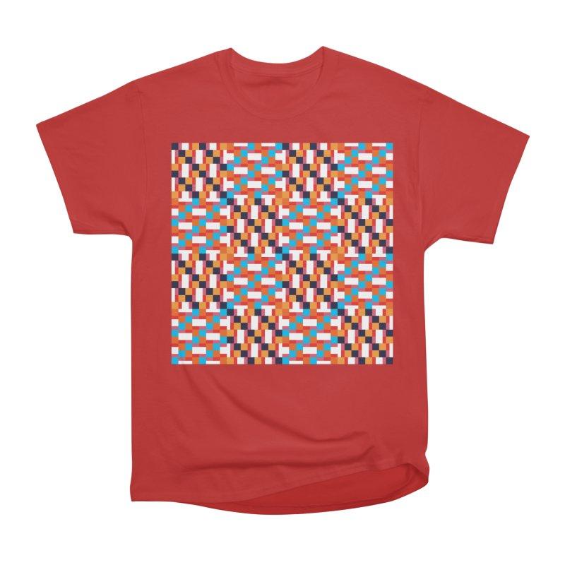 Geometric Design Series 4, Poster 9 Men's Heavyweight T-Shirt by Madeleine Hettich Design & Illustration