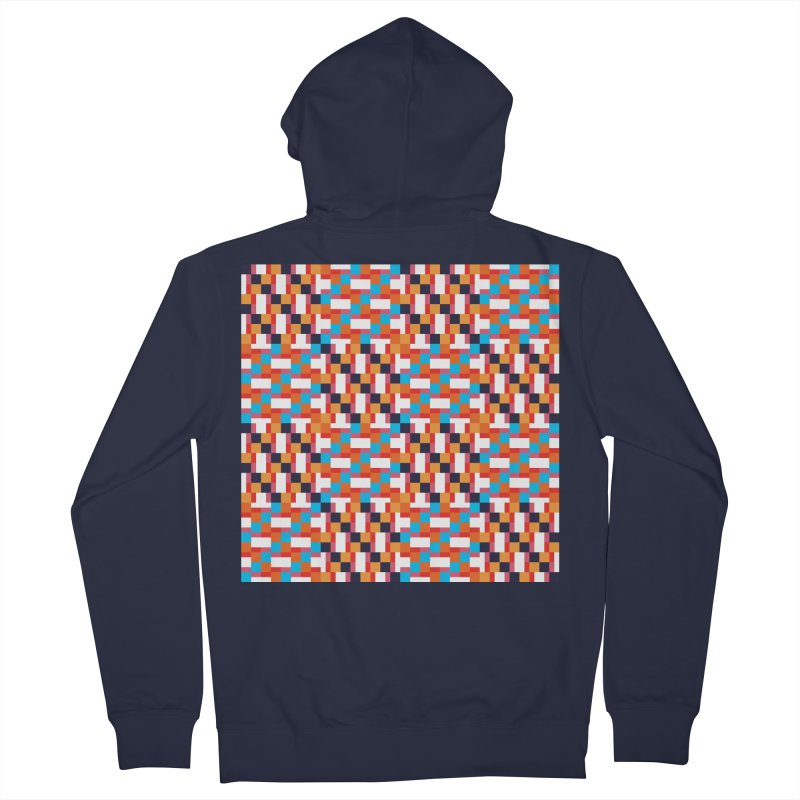 Geometric Design Series 4, Poster 9 Women's French Terry Zip-Up Hoody by Madeleine Hettich Design & Illustration