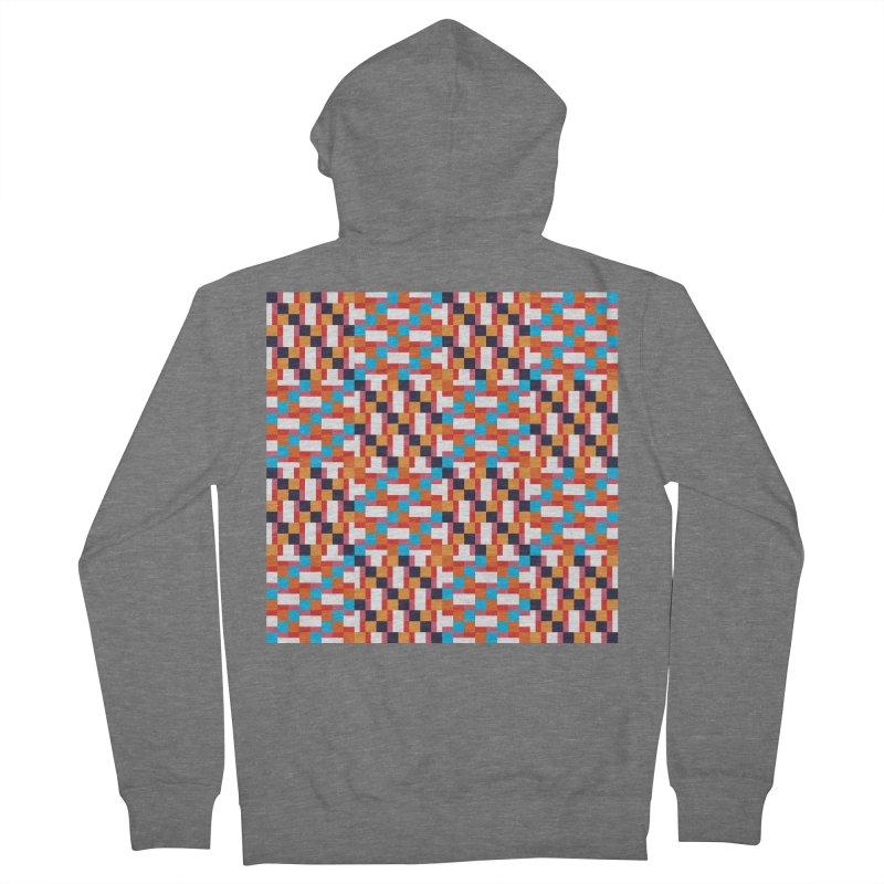 Geometric Design Series 4, Poster 9 Men's Zip-Up Hoody by Madeleine Hettich Design & Illustration