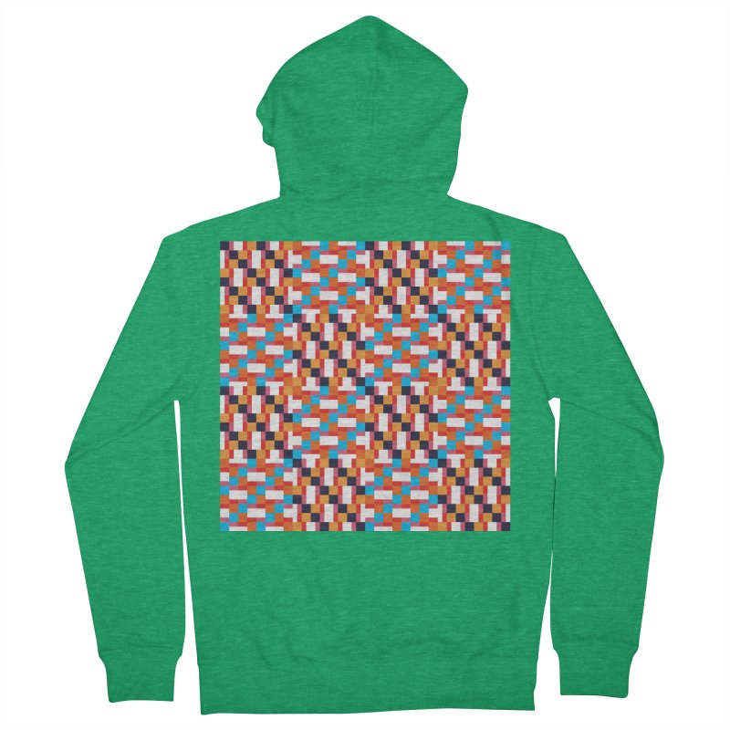 Geometric Design Series 4, Poster 9 Men's Zip-Up Hoody by Madeleine Hettich Design & Illustration