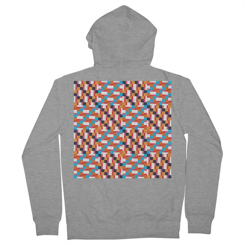 Geometric Design Series 4, Poster 9 Men's French Terry Zip-Up Hoody by Madeleine Hettich Design & Illustration