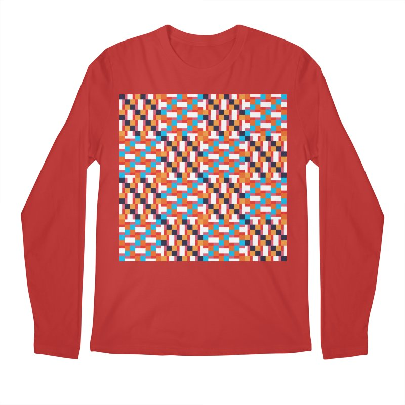 Geometric Design Series 4, Poster 9 Men's Regular Longsleeve T-Shirt by Madeleine Hettich Design & Illustration