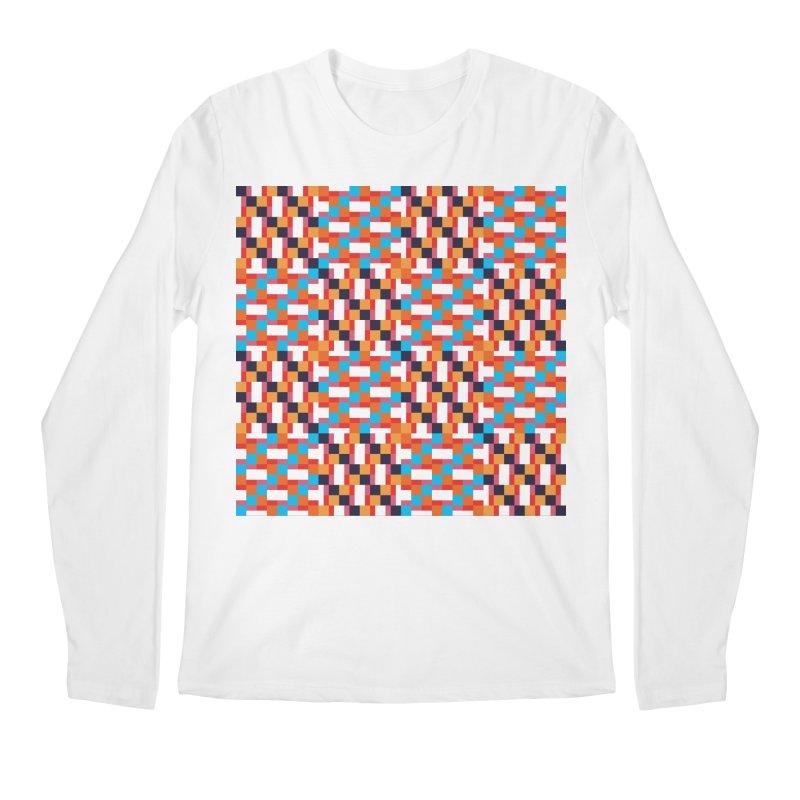 Geometric Design Series 4, Poster 9 Men's Longsleeve T-Shirt by Madeleine Hettich Design & Illustration