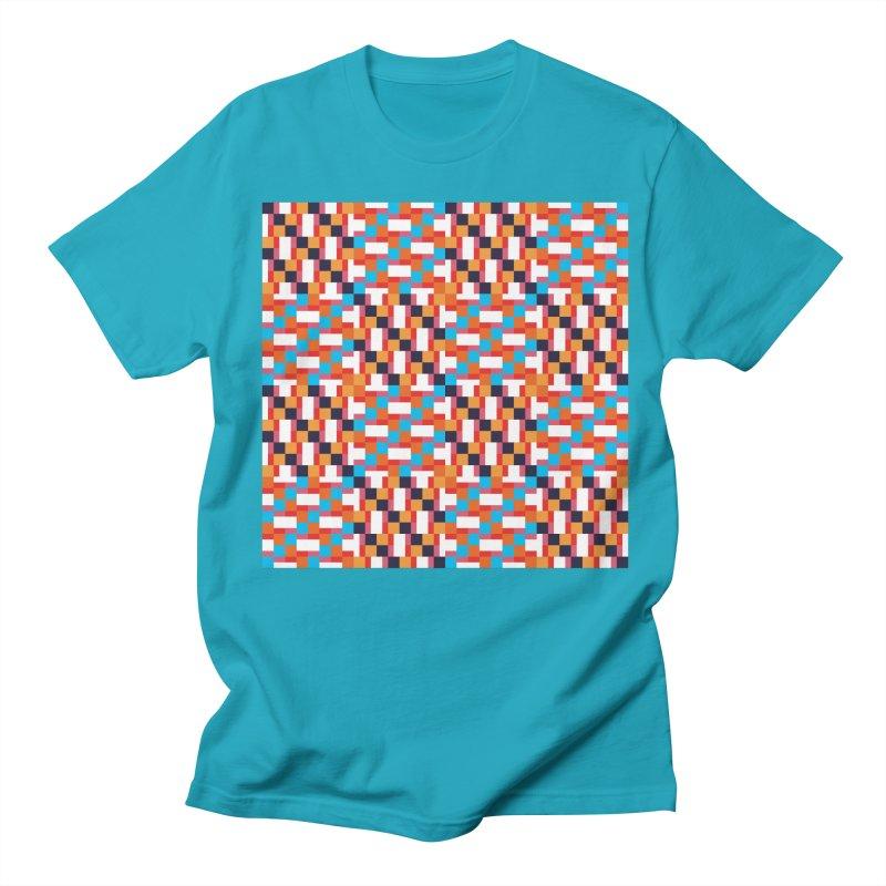 Geometric Design Series 4, Poster 9 Men's Regular T-Shirt by Madeleine Hettich Design & Illustration