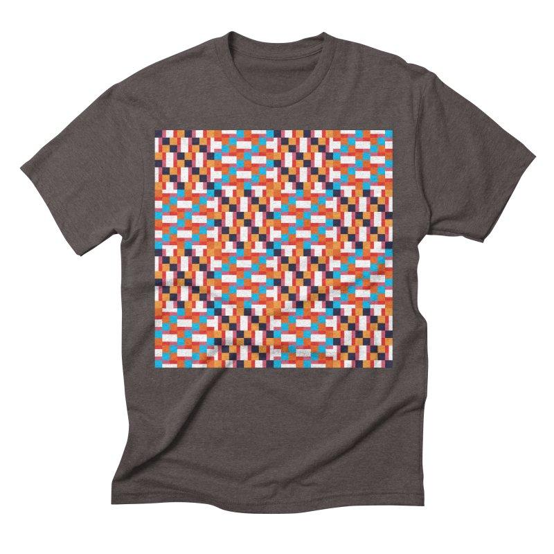 Geometric Design Series 4, Poster 9 Men's Triblend T-Shirt by Madeleine Hettich Design & Illustration