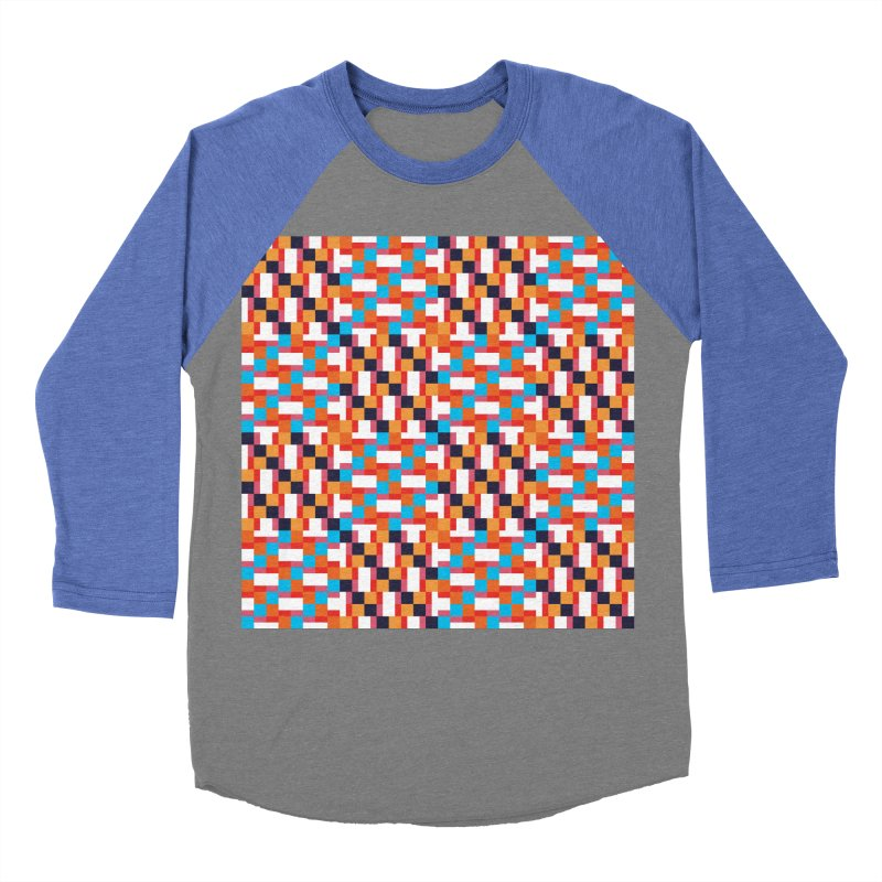 Geometric Design Series 4, Poster 9 Men's Baseball Triblend T-Shirt by Madeleine Hettich Design & Illustration