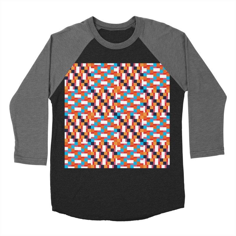 Geometric Design Series 4, Poster 9 Men's Baseball Triblend T-Shirt by Madeleine Hettich Design & Illustration