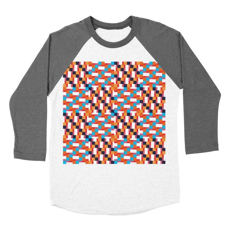 Geometric Design Series 4, Poster 9 Men's Baseball Triblend Longsleeve T-Shirt by Madeleine Hettich Design & Illustration